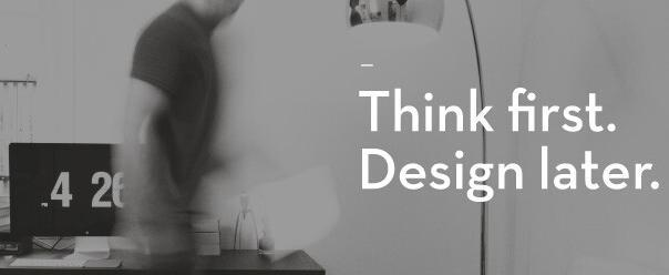 Think first. Design later. brand design agency Creative Order